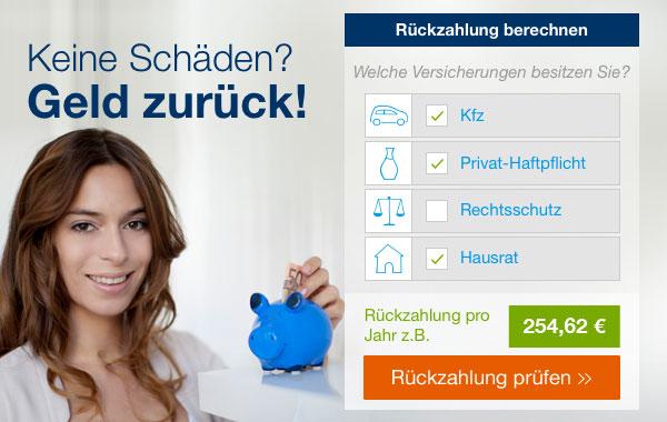 Geld zuruck bei vielen Versicherungen